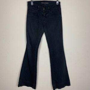 J Brand- (Lovestory) Gray Bootcut Jeans size 25